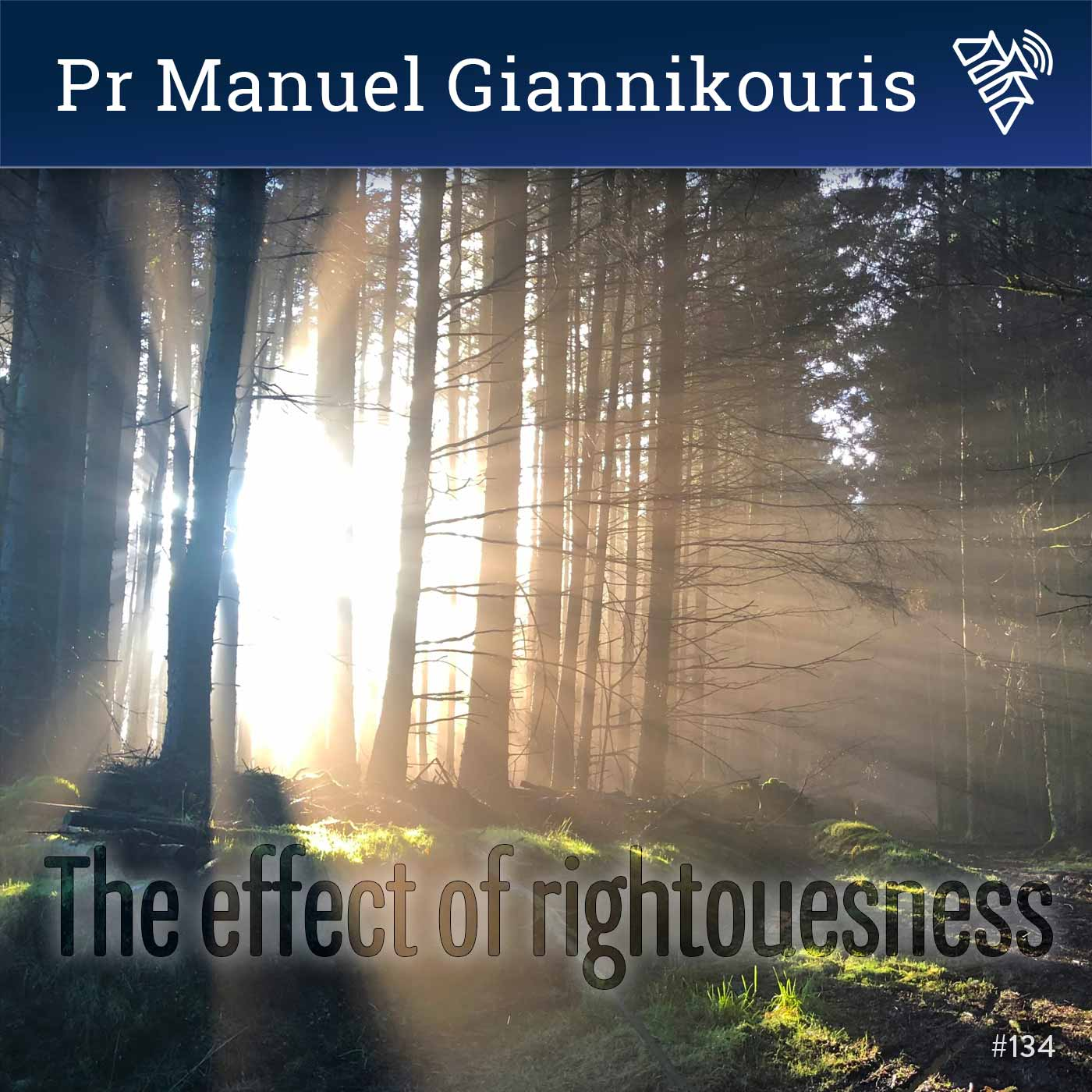 The effect of righteousness